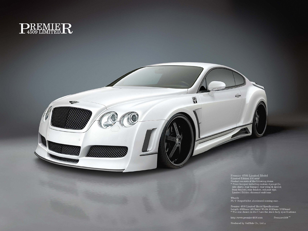 Bentley Continental: 03 фото