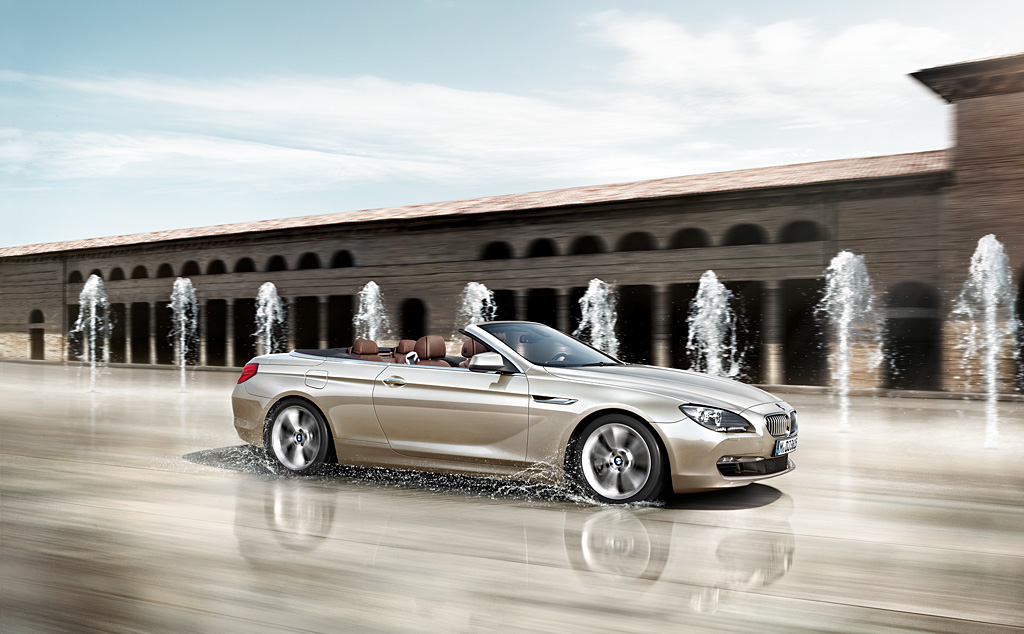 BMW 6-series Convertible: 02 фото