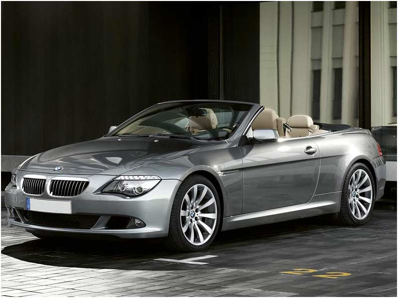 BMW 6-series Convertible: 07 фото