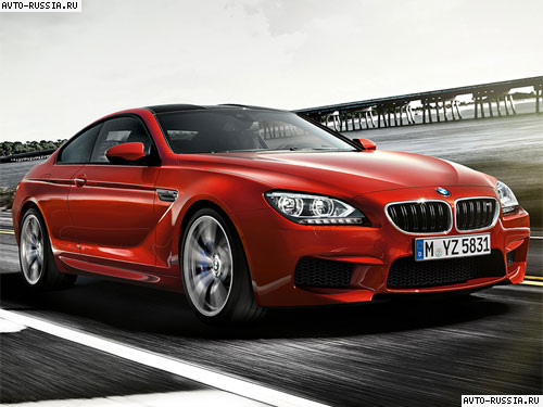 BMW M6 Coupe: 05 фото