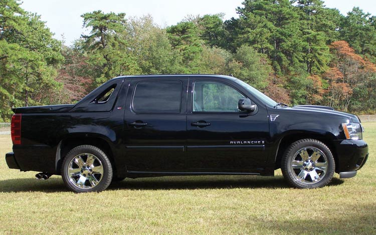 Chevrolet Avalanche: 03 фото