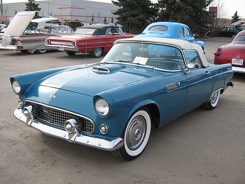 Ford Thunderbird: 01 фото