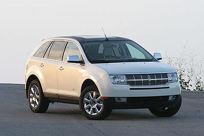 Lincoln MKX: 7 фото