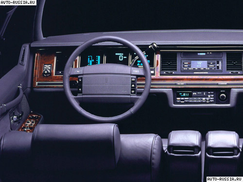 Lincoln Town Car II: 01 фото