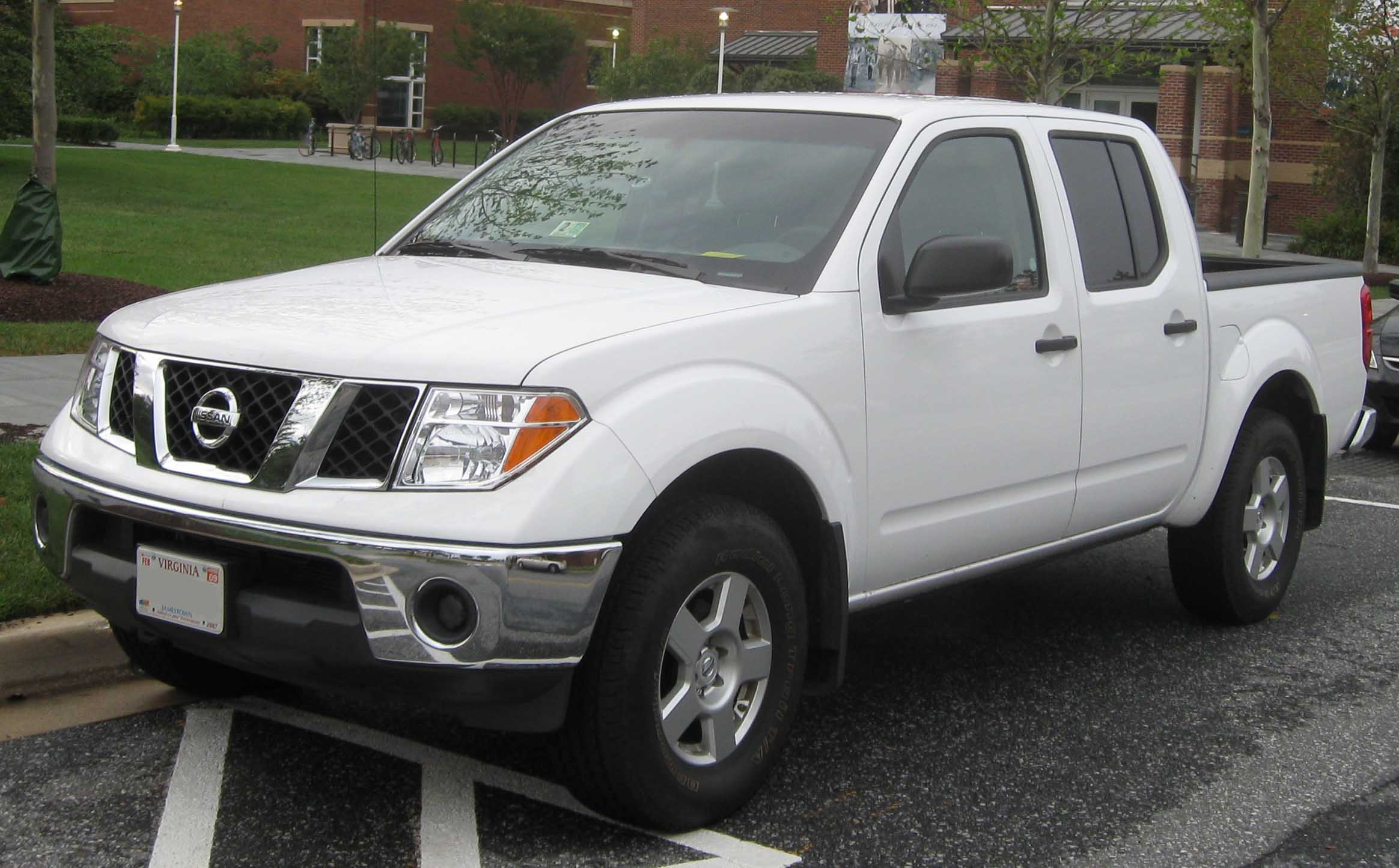 Nissan Frontier: 12 фото
